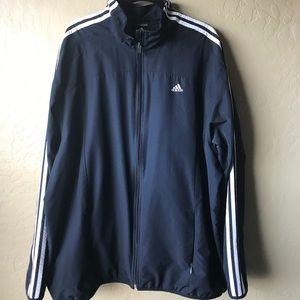 ADIDAS Climaproof Windbreaker Zip up jacket XXL